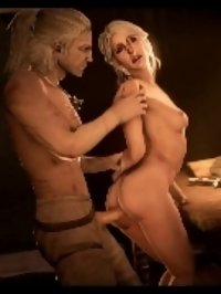 Nice blonde guy seduces and fucks shy chick